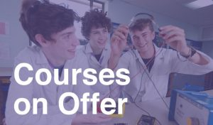 Courses on Offer at Fulford Sixth Form